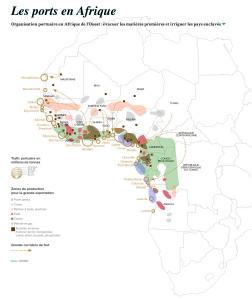 Organisation portuaire en Afrique de l'Ouest : évacuer les matières premières et irriguer les pays enclavés