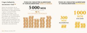 L'agro-industrie, un secteur vital