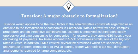 taxation formalization