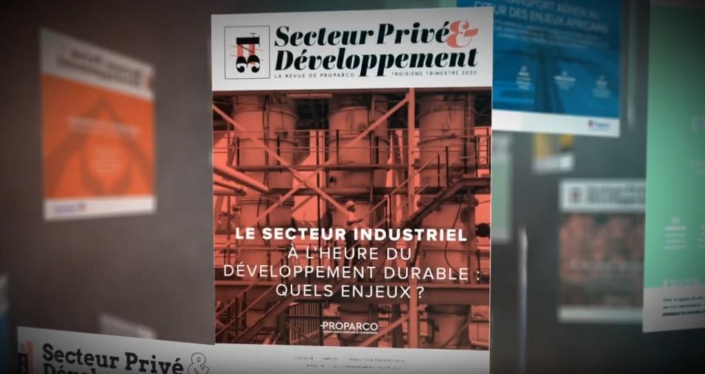 aller a Vidéo de présentation du  numéro 34 de la revue SP&D  : Le secteur industriel à l'heure du développement durable: quels enjeux ?