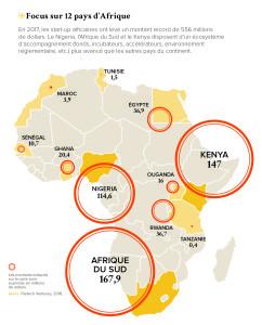 Focus sur 12 pays d'Afrique