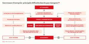 Gouvernance d'entreprise : principales difficultés dans les pays émergents